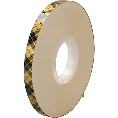 3M™ 908 Adhesive Transfer Tape, 1/2 x 36 yds., Clear, 72/Case