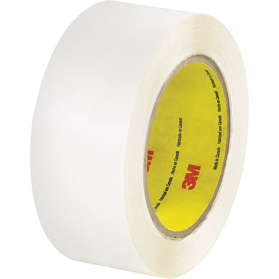 3M™ 2 x 36 yds. Double Coated Film Tape 444, Clear, 24/Case