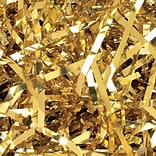 PreciousMetal™ 10 lbs. Metallic Shreds, Gold, 10 Lbs/Case
