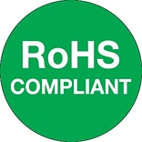 Tape Logic™ RoHS Compliant Regulated Label, 1(Dia)