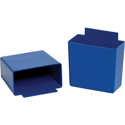 BOX 3 1/4 x 1 3/4 x 3 Shelf Bin Cup, Blue, 48/Case