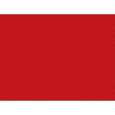 Tape Logic™ 4 x 3 Rectangle Inventory Label, Red, 500/Roll