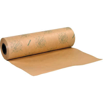 35 lbs. VCI Anti Rust Industrial Paper Waxed Roll, 36 x 200 yds., 1 Roll (VCI3635WAX)