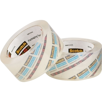 3M™ 2 x 55 yds. Crystal Clear Tape 3850, 12/Case