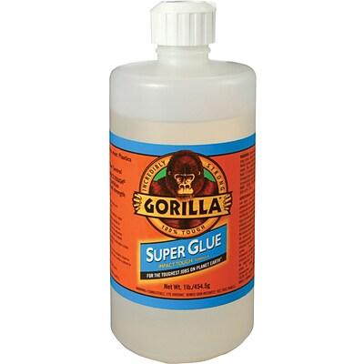 how to get gorilla super glue off your hands