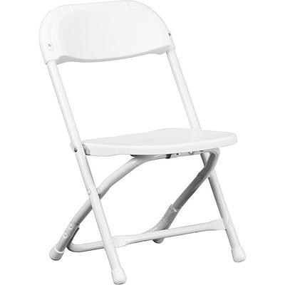 Phenomenal Flash Furniture Kids Plastic Armless Folding Chair White 10 Pack Creativecarmelina Interior Chair Design Creativecarmelinacom