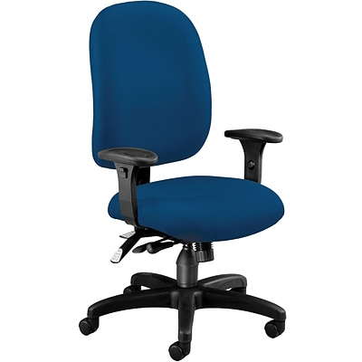 OFM Fabric Mid Back Ergonomic Executive/Computer Task Chair; Navy