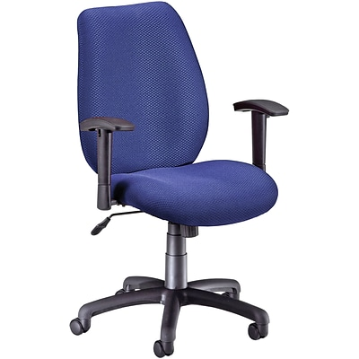 OFM Fabric Mid Back Ergonomic Managers Chair; Ocean Blue