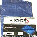 Anchor Brand® Multiple Use Tarpaulin; 12(L) x 9(W), 10/Box