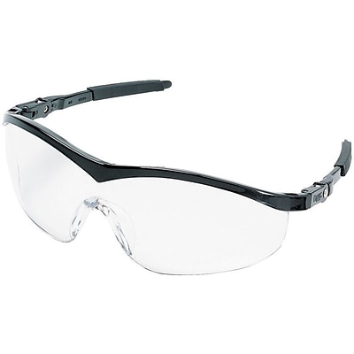 MCR Safety® Storm® ST110 Protective Eyewear, Clear/Black