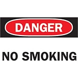 Brady® No Smoking Sign; 7(L) x 10(W)