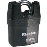 Master Lock® 6325 Pro Series® High Security Shrouded Padlock With Solid Iron Shroud, 5 Pin