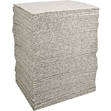 Brady® Re-Form™ 15(W) x 19(L) Plus Heavy Weight Absorbent Pad, 40 gal