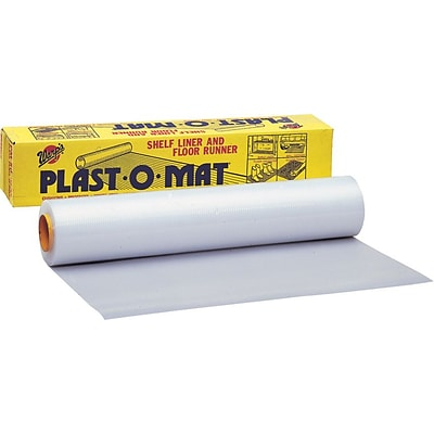 Warp Brothers® Plast-O-Mat® Ribbed Floor Runner Bulk Rolls, 100'(L) x 30