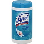 Lysol® Disinfecting Wipes, Ocean Fresh® Scent, 80 Wipes/Canister (77925)
