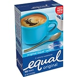 Equal® Sweetener w/Nutrasweet 100/Box