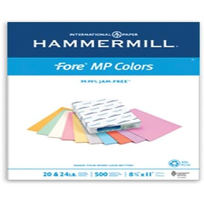 IP Hammermill® Fore® MP 30PC 11 x 17 20 lbs. Colored Copy Paper, Gray, 500/Ream