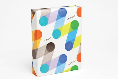 "Mohawk® BriteHue 11"" x 17"" 60 lbs. Colored Copy Paper, Sun Yellow, 2500/Case"