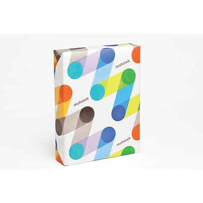 Mohawk® BriteHue 65 lbs. Vellum Cover, 8 1/2 x 11, Ultra Lime, 250/Ream