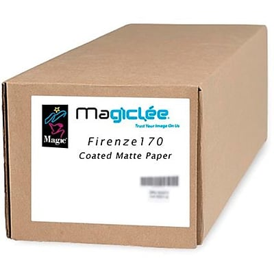 Magiclee/Magic Firenze 170 24 x 100 Coated Matte Presentation Paper, Bright White, Roll