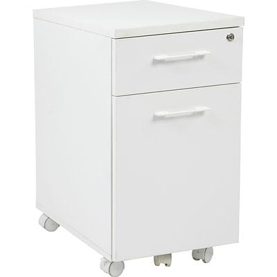 Office Star Pro Line II™ Prado 2 Drawer Mobile Pedestal File Cabinet,