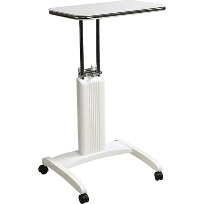 Office Star OSP Designs Solid Wood Precision Laptop Stand, White