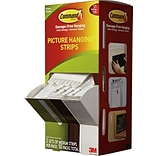 Command™ Medium Picture Hanging Strips Cabinet Pack; 50/Pack