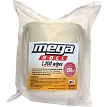 Care Wipes® Mega Roll 1200 Biodegradable Cleaning Wipe, 1200 Sheet Refill Roll, 2 per case
