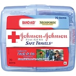 Johnson & Johnson® Safe Travels First Aid Kit