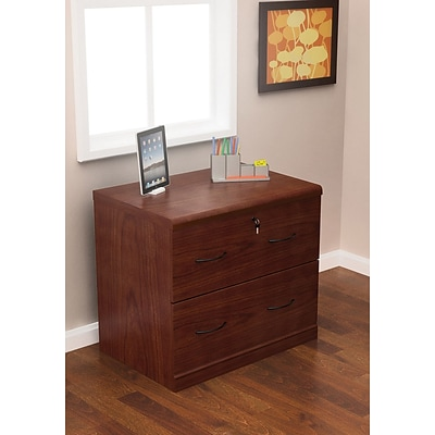Z Line Designs 28 1/4 Wood Lateral File Cabinet, 2 Drawer
