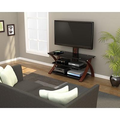 Z Line Designs Makena 3 In 1 Tv Stand Black Quill Com