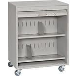 Buddy Products Tambour Locking Medical Cart