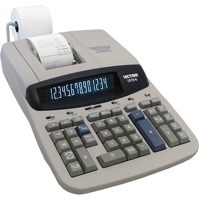 Victor® 1570-6 Professional-Grade Heavy-Duty Commercial Printing Calculator