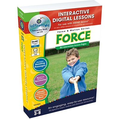 Interactive Whiteboard Resources, Force