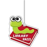 Library Pass Bookworm