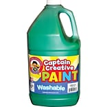 Captain Creative Washable Paint™, Green, Gallon