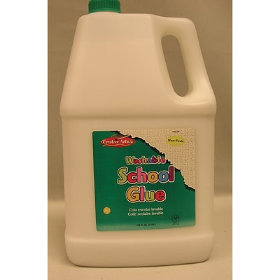Charles Leonard® Economy Washable School Glue, One Gallon