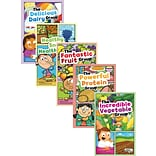 MyPlate and Healthy Eating Book Set, Set of 6