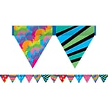 Poppin Patterns Pennant Border