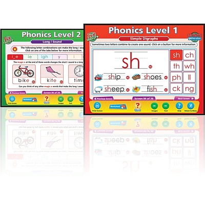 Phonics, Interactive Whiteboards
