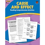 Cause and Effect Comprehension Book, Blue Level