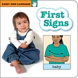 Garlic Press Early Sign Language First Signs Book