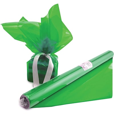 Hygloss Cello-Wrap™ Art Roll, 20 x 12.5, Green (HYG71503)