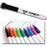 Dry Erase Markers with Erasers Fine, Assorted Colors 10 pk