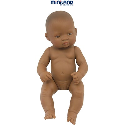 Newborn Baby Doll, Hispanic Girl, 12-5/8L