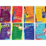 Music Genres Bulletin Board Set