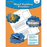 Houghton Mifflin® Word Problem Practice Book, Grades 3rd - 4th