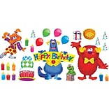 Furry Friends™ Birthday Fun Bulletin Board Set, 32 pieces