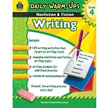 Daily Warm-Ups: Nonfiction & Fiction Writing Book, Grade 4