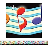 Musical Notes Straight Border Trim, 35 x 3 Grades K and up